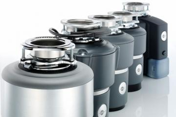 Insinkerator garbage disposals ready for installation